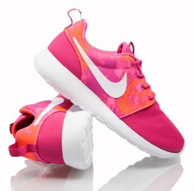 Fw15 Nike Rosherun Print shoes Gymnastics Gym shoes Womens 599432 613