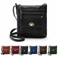 New Ladies Shoulder Tote Handbag Faux Leather Hobo Purse Cross Body Bag Womens