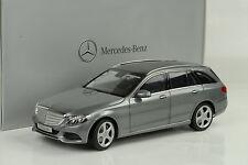 Mercedes-benz c-class Clase T coche familiar s205 2014 Darksilver 1:18 norev Dealer