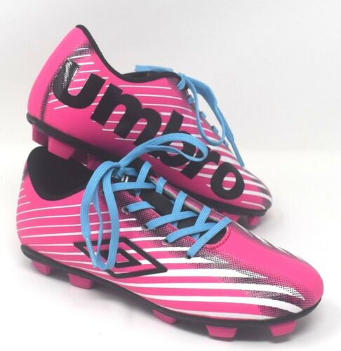 Girls Pink Soccer Cleats Umbro Arturo 2.0 New in Box
