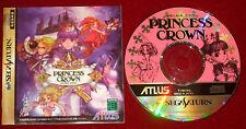 Sega Saturn Game PRINCESS CROWN NTSC-J Japan Import