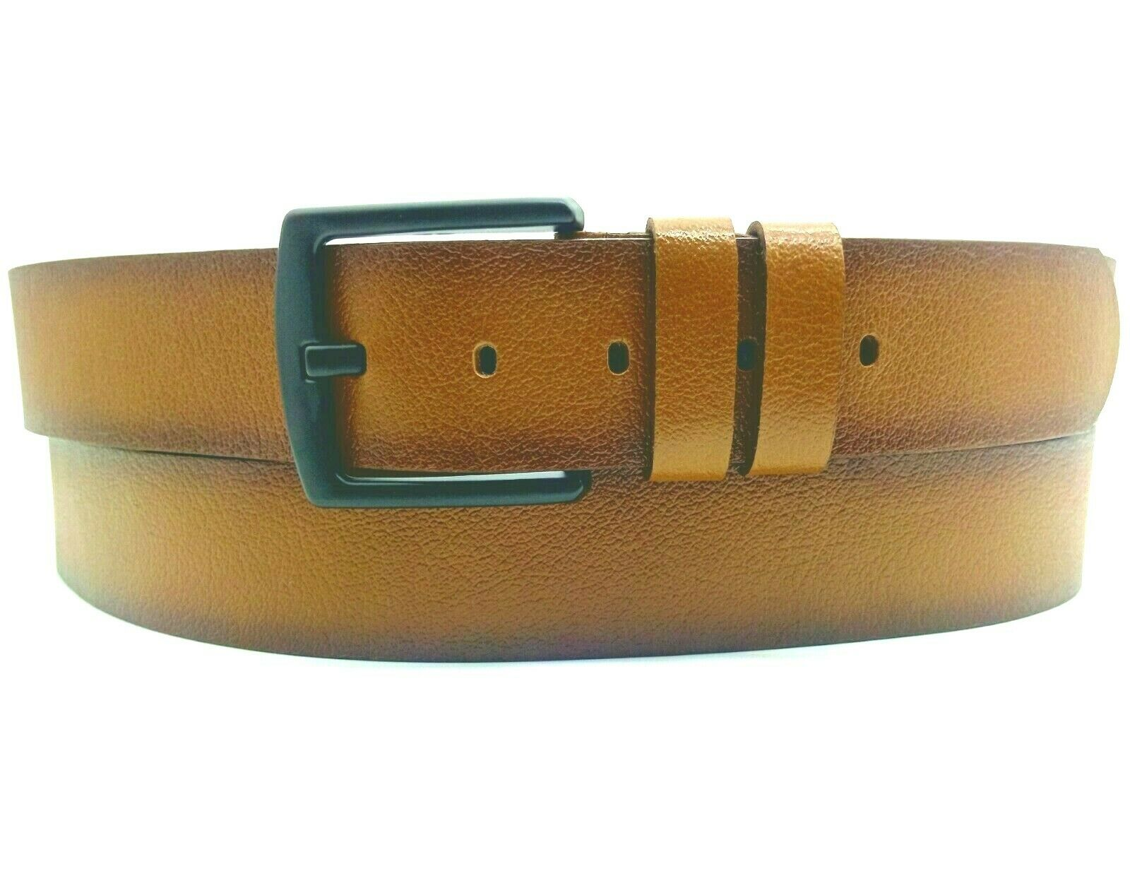 100% Echte Büffelleder Belt 4cm Breit Handmade Gürtel Cognag Braun Schwarz ✅