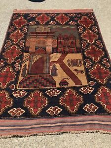 Unique-Nomad-Wool-Hand-Made-Area-Rug