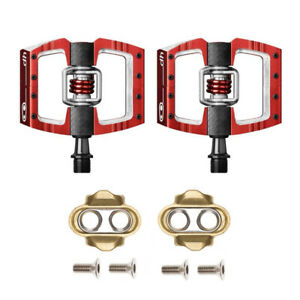 Crankbrothers-Mallet-DH-Lightweight-Racing-Enduro-Bike-Bicycle-Pedals-Pair-Red