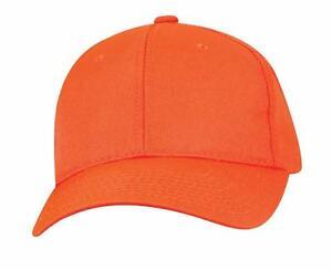 Image is loading Outdoor-Cap-Hunter-Safety-Blaze-Orange-Baseball-Hat 4be691d21be