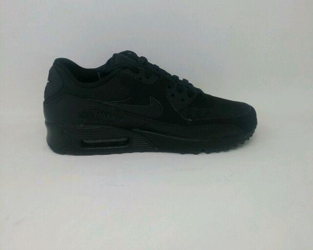 Nike 537384 Men's Air Max 90 Essential Running Shoes Black black 8 US Men