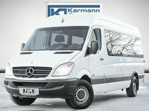 2011 Mercedes-Benz Sprinter Wagon 15 Passenger 170 WB High Roof Accident Free 