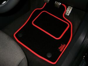 Red Edition Car Mats To Fit Bmw Mini Roadster 2012 2015 Logos