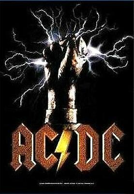 "AC/DC   POSTER ""FIST"""