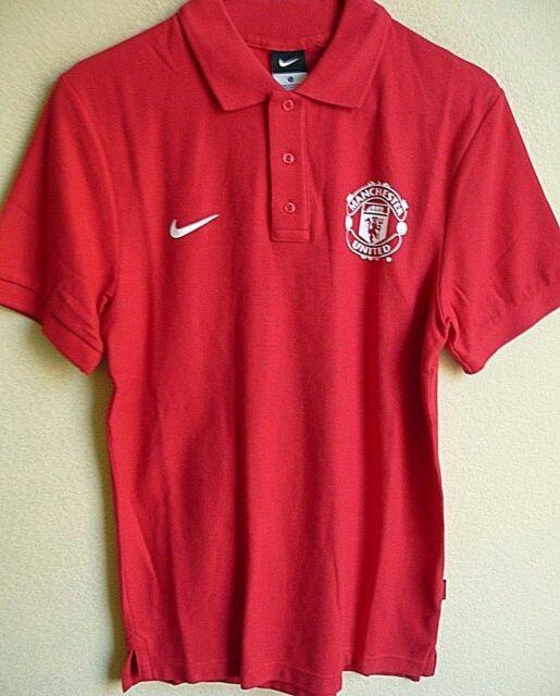 2fec6752f18 Nike Manchester United FC Football Soccer Polo Shirt S NWT 546984