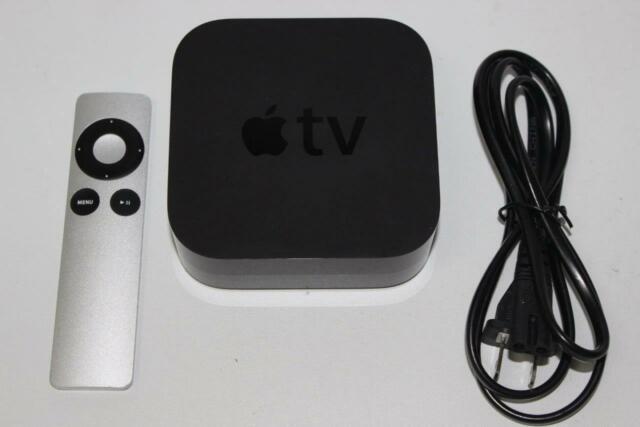 Apple TV 3rd Gen 1080P HD Media Streamer MD199LL/A (A1427) Apple Remote as shown