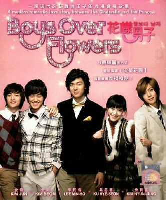 DVD Boys Over Flower Episode 1-25 End Sub Free Ship