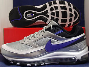 Nike-Air-Max-97-BW-Metallic-Silver-Persian-Violet-Classic-SZ-10-5-AO2406-002