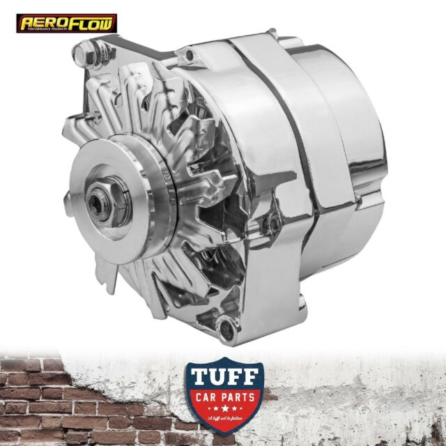 Holden Kingswood HT HG 253 308 V8 Aeroflow Chrome Alternator 100 Amp Int Reg New
