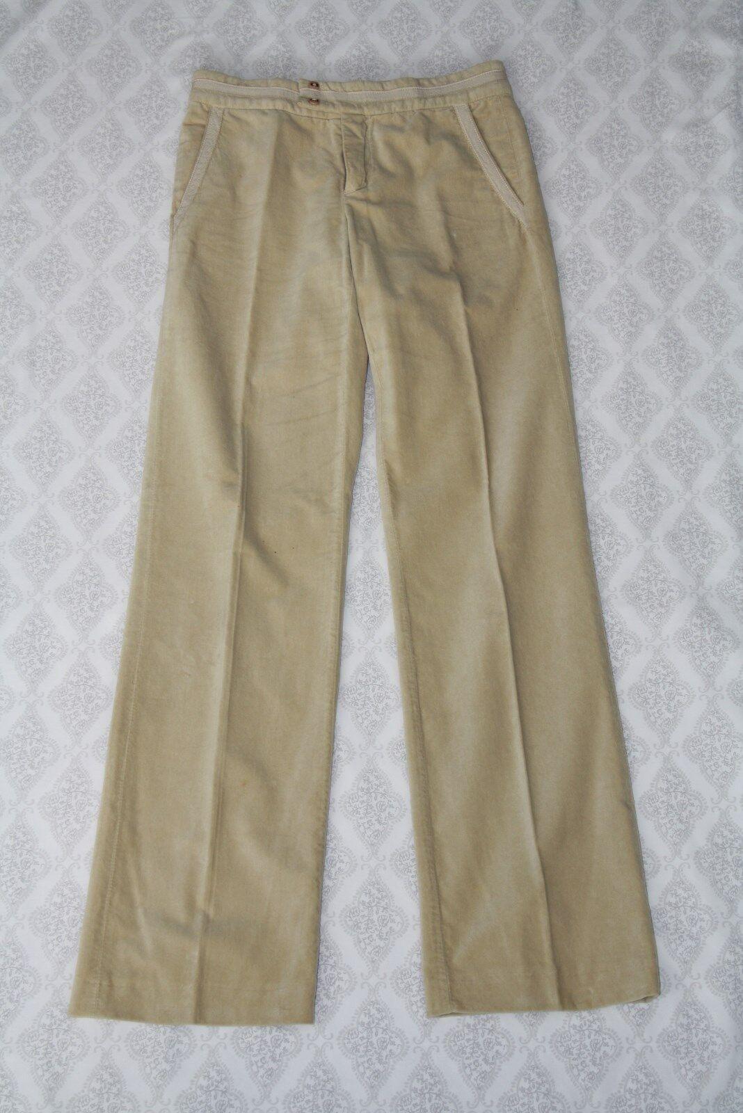 Marc Jacobs Designer Corduroy Straight Leg Dress Pants (Größe 2)