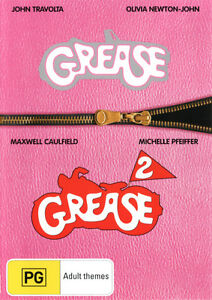 Grease / Grease 2  - DVD - NEW Region 4