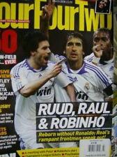 FourFourTwo March 2008 UK Magazine Ruud, Raul, Robinho #163