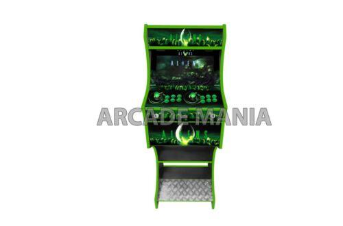 BARTOP ARCADE MACHINE WITH STAND  - ALIENS V2 THEMED - RETROPIE SETUP