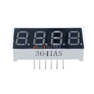 2Pcs-0-36inch-7-Segment-4-Digit-Common-Cathode-0-36-034-RED-LED-digital-display