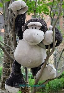 Giant-Large-Monkey-Plush-Toy-Stuffed-Wild-Gorilla-Friend-Animal-Pillow-Gift-32-039-039