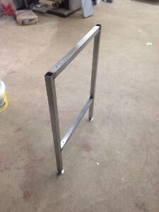 Image Is Loading 1 X Stainless Steel Work Table Supports Workshop