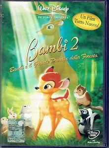 DVD-Bambi-2-Walt-Disney-ologramma-rettangolare-in-costa