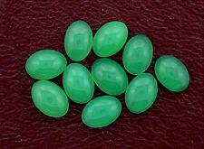 ONE 7x5 7mm x 5mm AAA Oval Chrysoprase Cabochon Cab Gemstone Gem Stone ebs5431