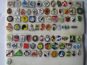 lotto-80-pins-JUPILER-PRO-LEAGUE-FOOTBALL-CLUB-FC-lot-spille-belgio-belgium