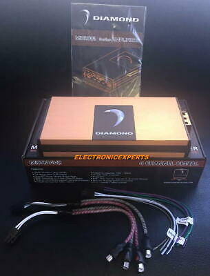 DIAMOND AUDIO MICRO4V2 4CHANNEL MOTORCYCLE 600W RMS AMPLIFIER HARLEY
