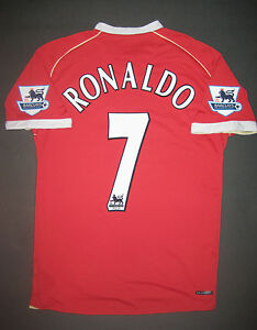 pretty nice 8da40 5ab11 Details about 2006 Nike Manchester United Cristiano Ronaldo Jersey Shirt  Kit Portugal Madrid