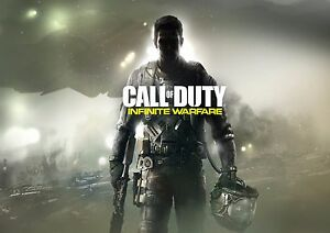 A1 CALL OF DUTY INFINITE WARFARE GAME WALL ART POSTER A5 SIZES