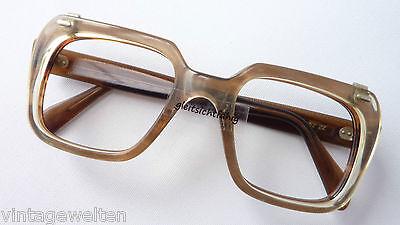 Nerd Oldschool Brillenfassung Herrengestell Mit Variablem.clipteil Grösse L