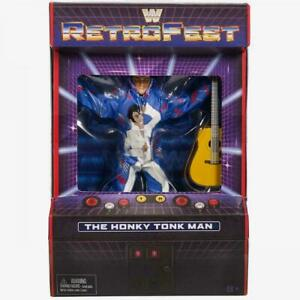 WWE-The-Honky-Tonk-Man-Retrofest-Collectable-Figure-Mattel-Toy-New-Boxed