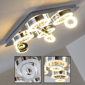 Plafonnier-LED-Lustre-Design-Lampe-de-corridor-Lampe-a-suspension-Chrome-143391