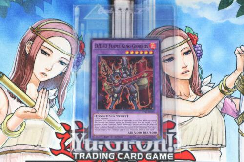 Yugioh D//D//D Flame King Genghis CT13-EN005 Limited Edition Super Rare