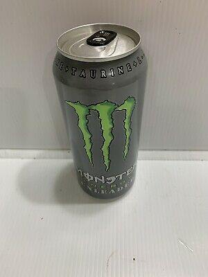 Monster Energy Drink Unleaded Full 16oz Can This Is A Stock Photo Ebay