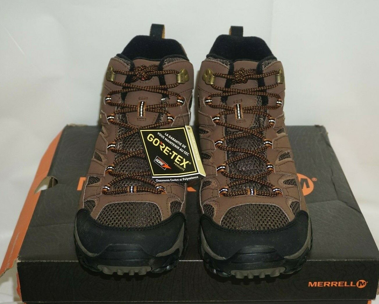 Hommes Merrell Moab 2 Mid GTX, terre-Taille 11.5 US