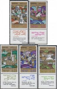 Israel-425-429-kompl-Ausg-postfrisch-1968-Jerusalem