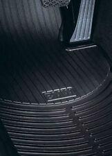 BMW Floor Mats E90 3 Series Sedan Black Rubber All Weather Front Set  07-11 OEM