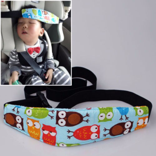 Baby Car Seat Headrest Sleeping Head Support Pad ow For Kids Travel