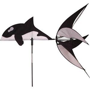 Wind Spinner Willer Whale Premier Cerfs-volants Jardin Décoration extérieure Animaux marins