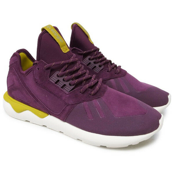 NEW ADIDAS TUBULAR RUNNER MERLOT Men's shoes S81679 Spice yellow mens shoe size