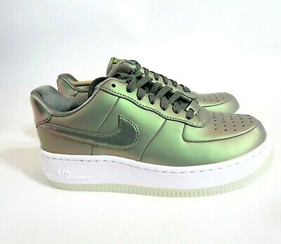 Nike Wnms Air Force 1 Upstep PRM LX Dark Stucco Green AA3964 001 Size 10 | eBay
