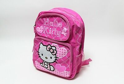 Hello Kitty Pink New School Bag Book Girls 81400 Small Backpack