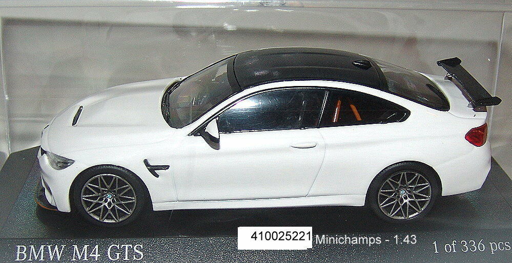 MINICHAMPS 410025221 - BMW M4 GTS Coupé 2016 white - 1-43 - Neuf Emballage