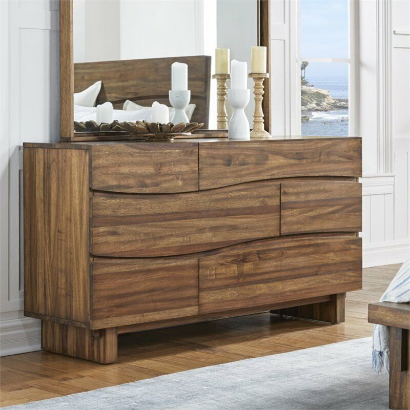 Modus Ocean 6 Drawer Solid Wood Dresser