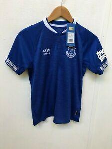 Everton-FC-Kid-039-s-Umbro-18-19-Home-Shirt-YL-Richarlison-3-New-With-Defects