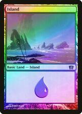 FOIL 9th Edition HEAVILY PLD Basic Land MAGIC MTG CARD ABUGames Plains 331