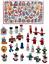 48-dettaglio-Alto-in-Legno-Albero-di-Natale-Appeso-Decorazioni-Angeli-Campane-Pupazzo-di-Neve miniatura 1