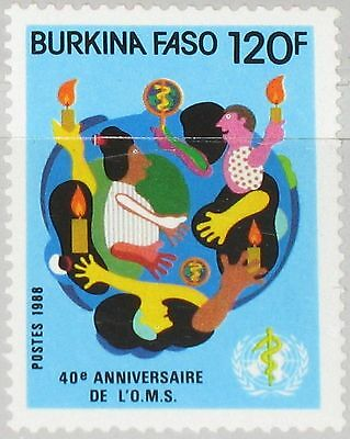Medicine Medizin Mnh Burkina Faso Besorgt Burkina Faso 1988 1165 835 40th Ann Who World Health Org